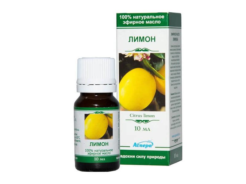 Масло эфирное Аспера Лимон 10ml ПК2301А026