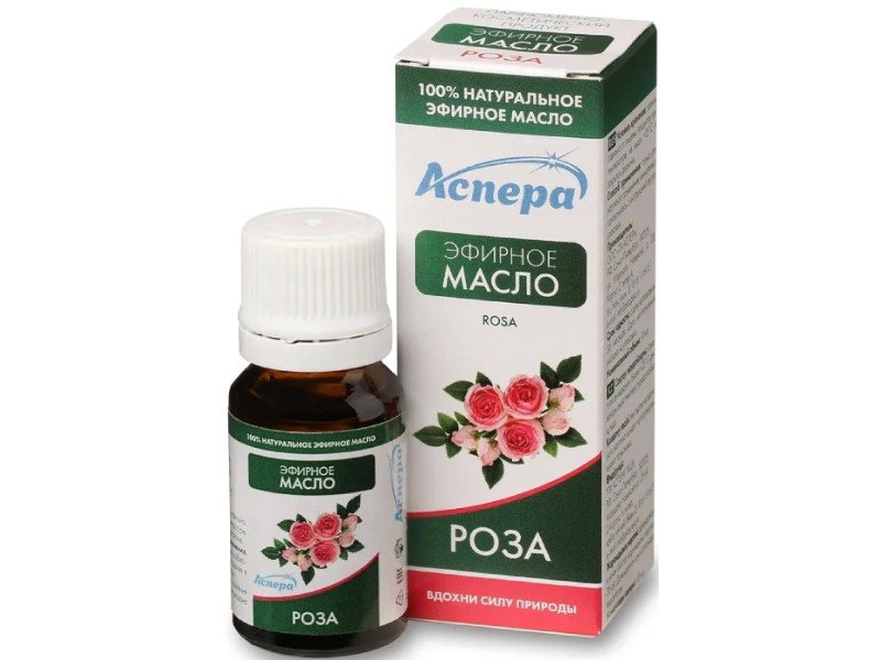 Масло эфирное Аспера Роза 10ml ПК2301А043