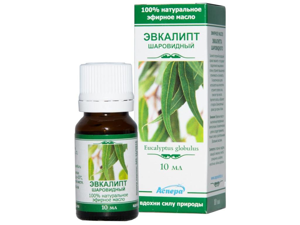 Масло эфирное Аспера Эвкалипт 10ml ПК2301А056