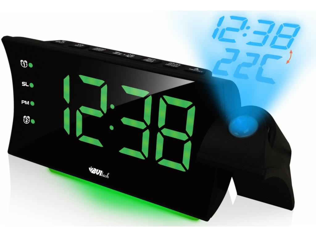 Часы BVItech BV-435GKP Green-Black bvitech электронные настольные часы будильник bv 19gmx