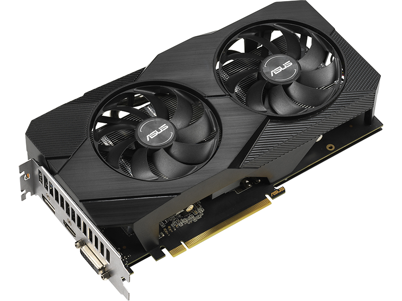 Видеокарта ASUS GeForce GTX 1660 Super Dual EVO 1530Mhz PCI-E 3.0 6144Mb 14002Mhz 192 bit DP HDMI DVI DUAL-GTX1660S-A6G-EVO