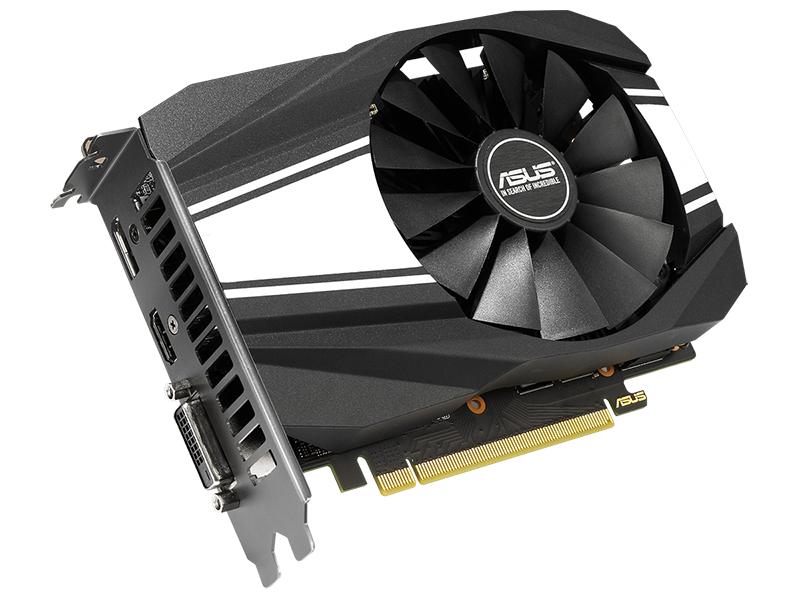 Видеокарта ASUS GeForce GTX 1660 Super Phoenix OC 1530Mhz PCI-E 3.0 6144Mb 14002Mhz 192 bit DP HDMI DVI PH-GTX1660S-O6G