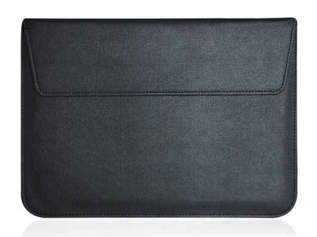 Аксессуар Чехол Gurdini для APPLE MacBook 13 Eco кожа Black 902506