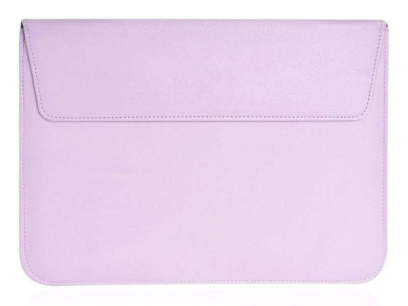 Аксессуар Чехол Gurdini для APPLE MacBook 13 Eco кожа Lilac 905659