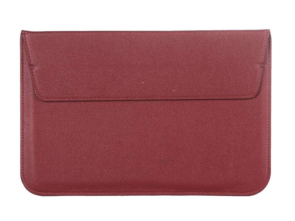 Аксессуар Чехол Gurdini для APPLE MacBook 11 Eco кожа Red 902511 аксессуар чехол gurdini lights series для apple ipad 9 7 2017 purple