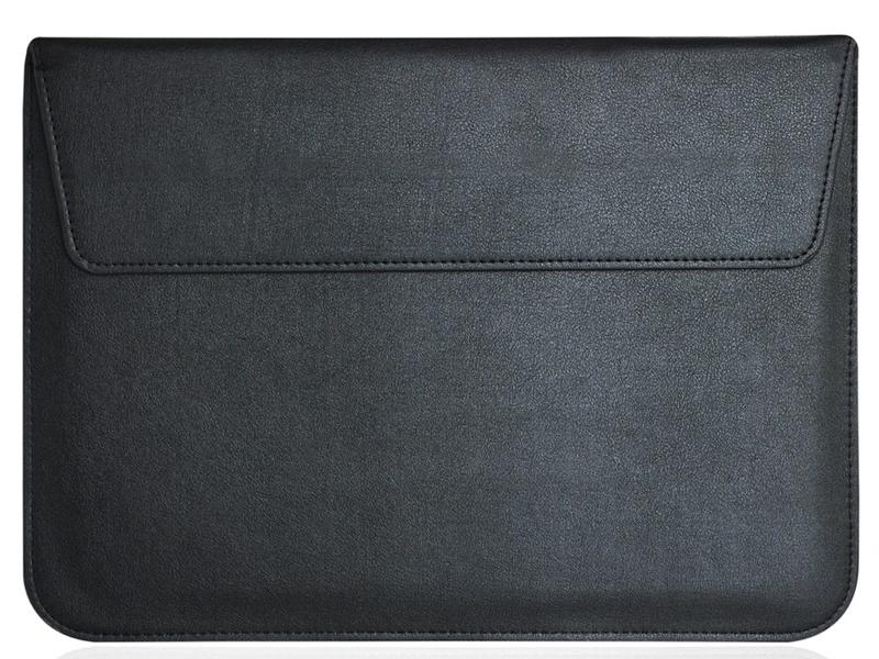 Аксессуар Чехол Gurdini для APPLE MacBook 15 Eco кожа Black 902514