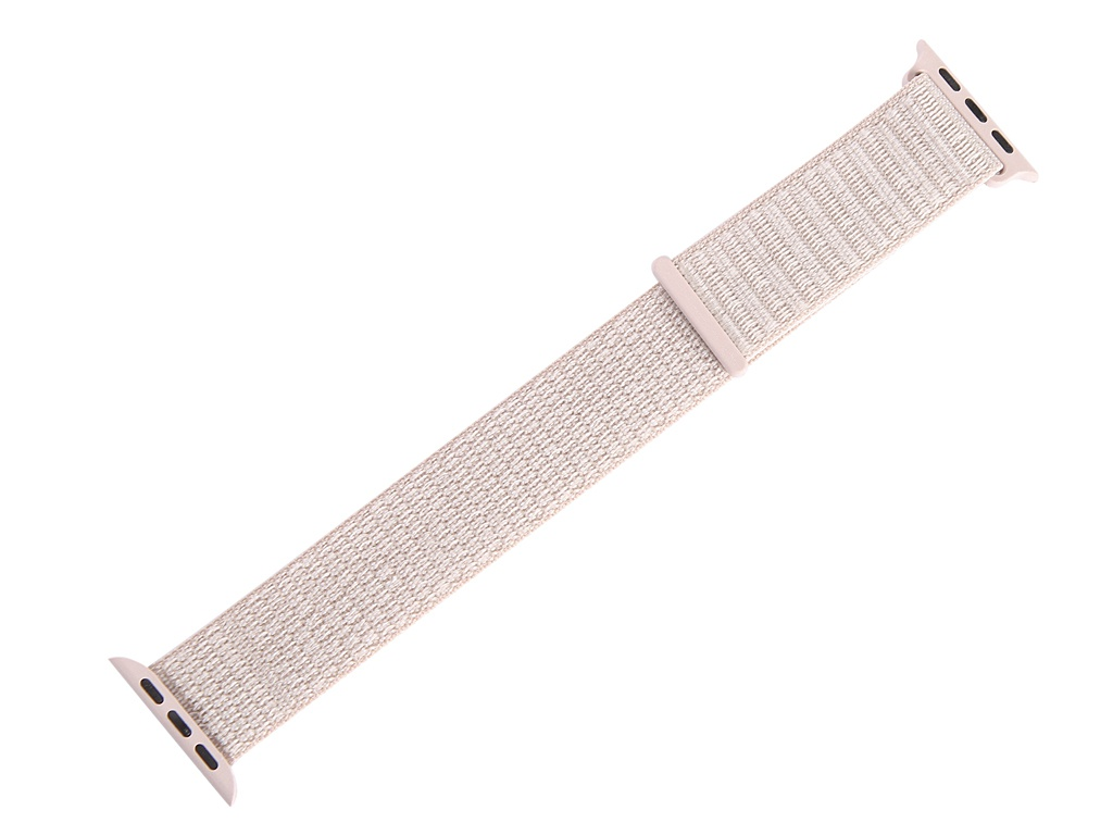 Аксессуар Ремешок Gurdini Sport Loop для APPLE Watch 38/40mm Pink Sand 908111