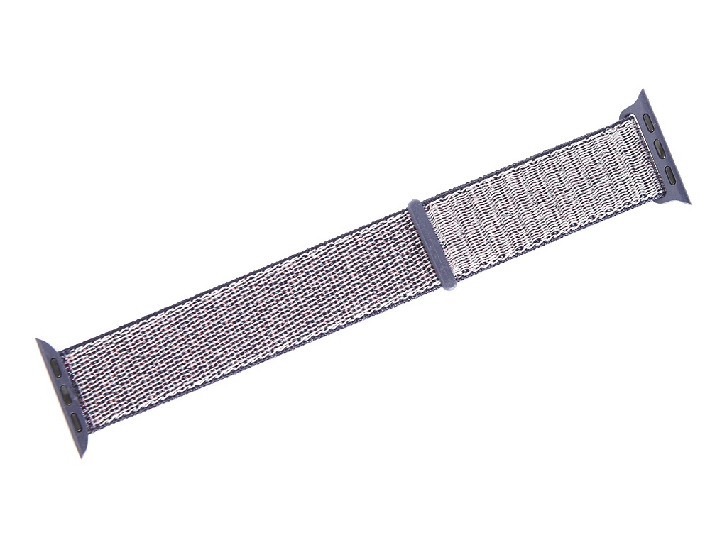 Аксессуар Ремешок Gurdini Sport Loop для APPLE Watch 38/40mm Midnight Blue 908107