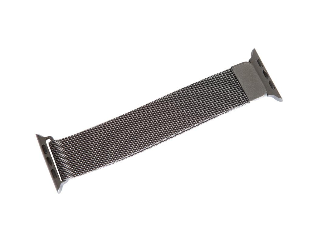 Аксессуар Ремешок Gurdini Milanese Loop для APPLE Watch 42mm/44mm Gray 910757