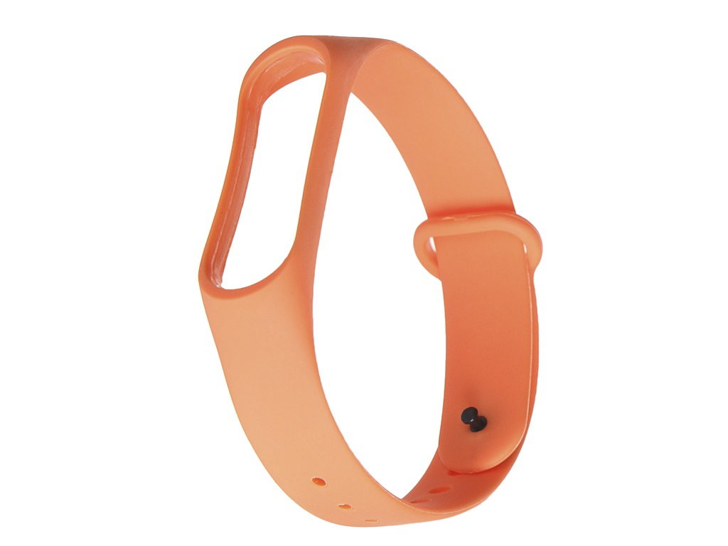 Aксессуар Ремешок Gurdini Silicone для Xiaomi Mi Band 3/4 Orange 908135