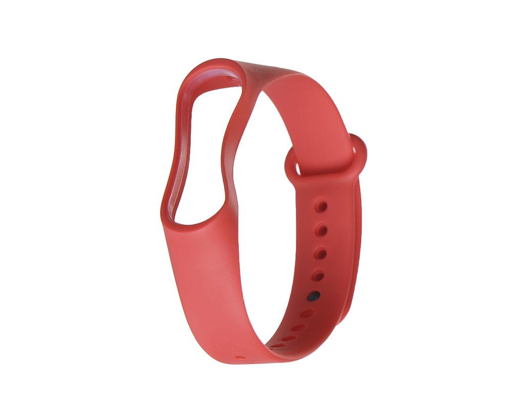 Aксессуар Ремешок Gurdini Silicone для Xiaomi Mi Band 3/4 Red 908139