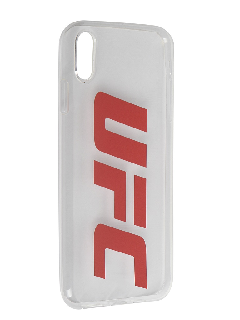Аксессуар Чехол Red Line для APPLE iPhone XS Max UFC Transparent УТ000019119