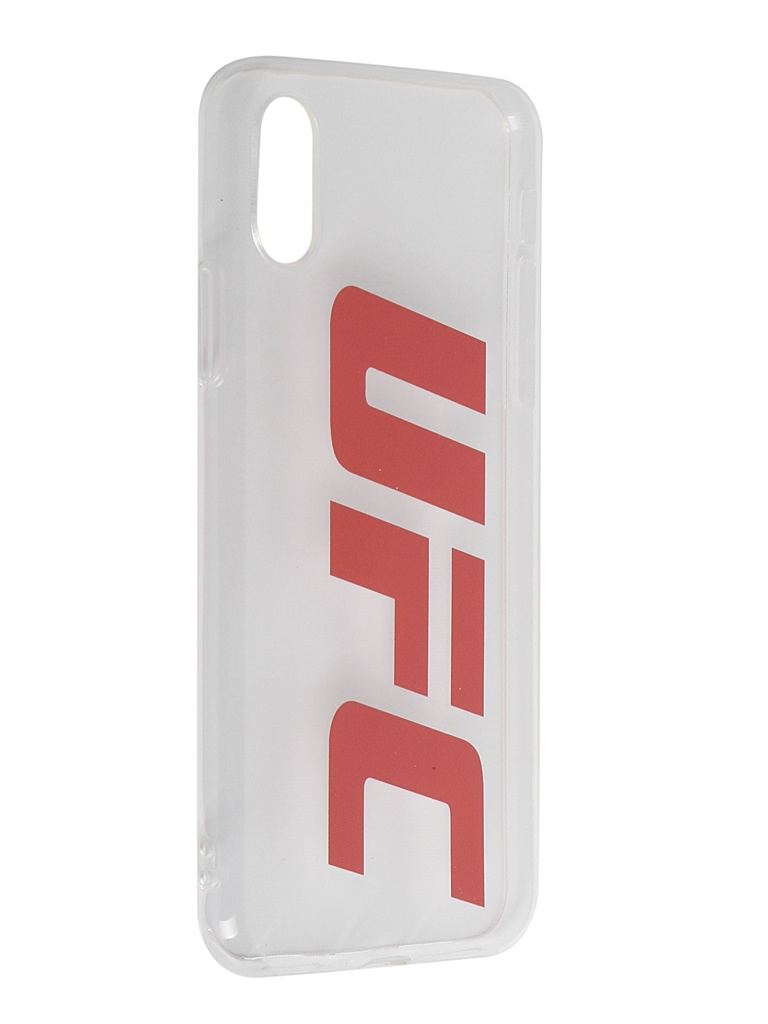 Чехол Red Line для APPLE iPhone X UFC Transparent УТ000019116