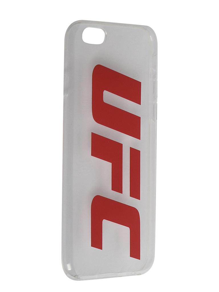 Аксессуар Чехол Red Line для APPLE iPhone 6/6S UFC Transparent УТ000019113 аксессуар чехол joyroom для iphone 6 6s transparent 16127