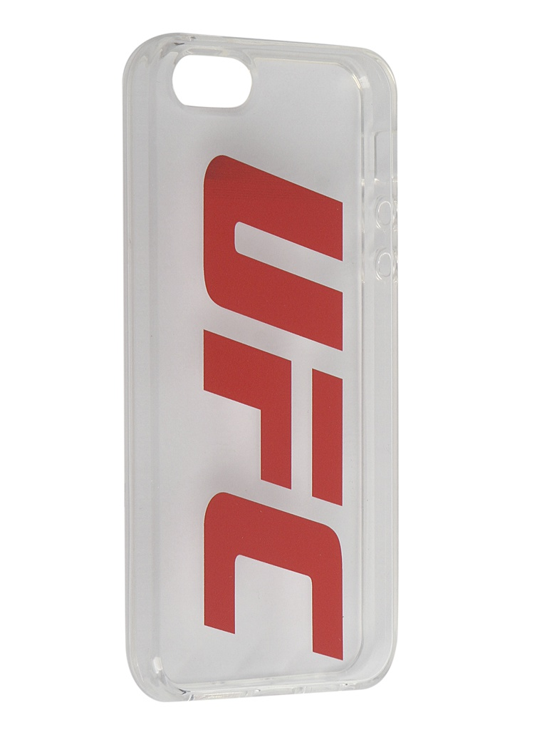 Чехол Red Line для APPLE iPhone 5/5S/SE UFC Transparent УТ000019111