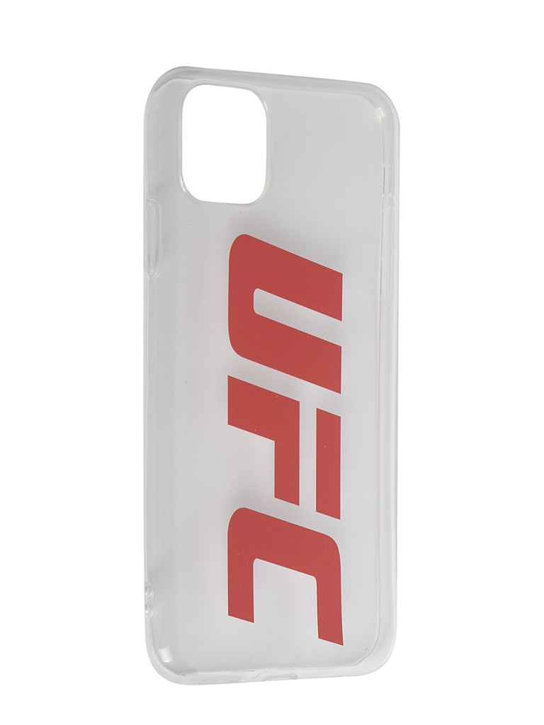 Фото - Аксессуар Чехол Red Line для APPLE iPhone 11 Pro Max UFC Transparent УТ000019110 аксессуар чехол red line для apple iphone 11 pro ultimate red ут000018384