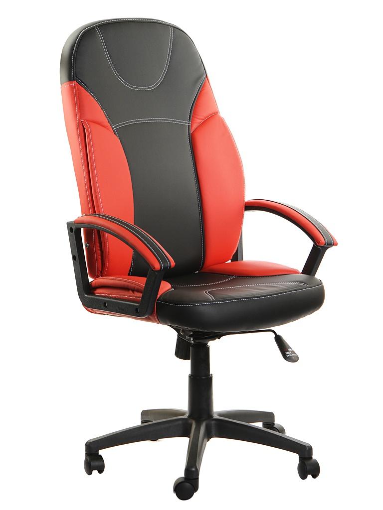 Компьютерное кресло TetChair Twister искусственная кожа Black-Red 3499
