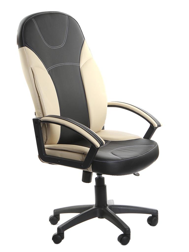 Компьютерное кресло TetChair Twister искусственная кожа Black-Beige 5851