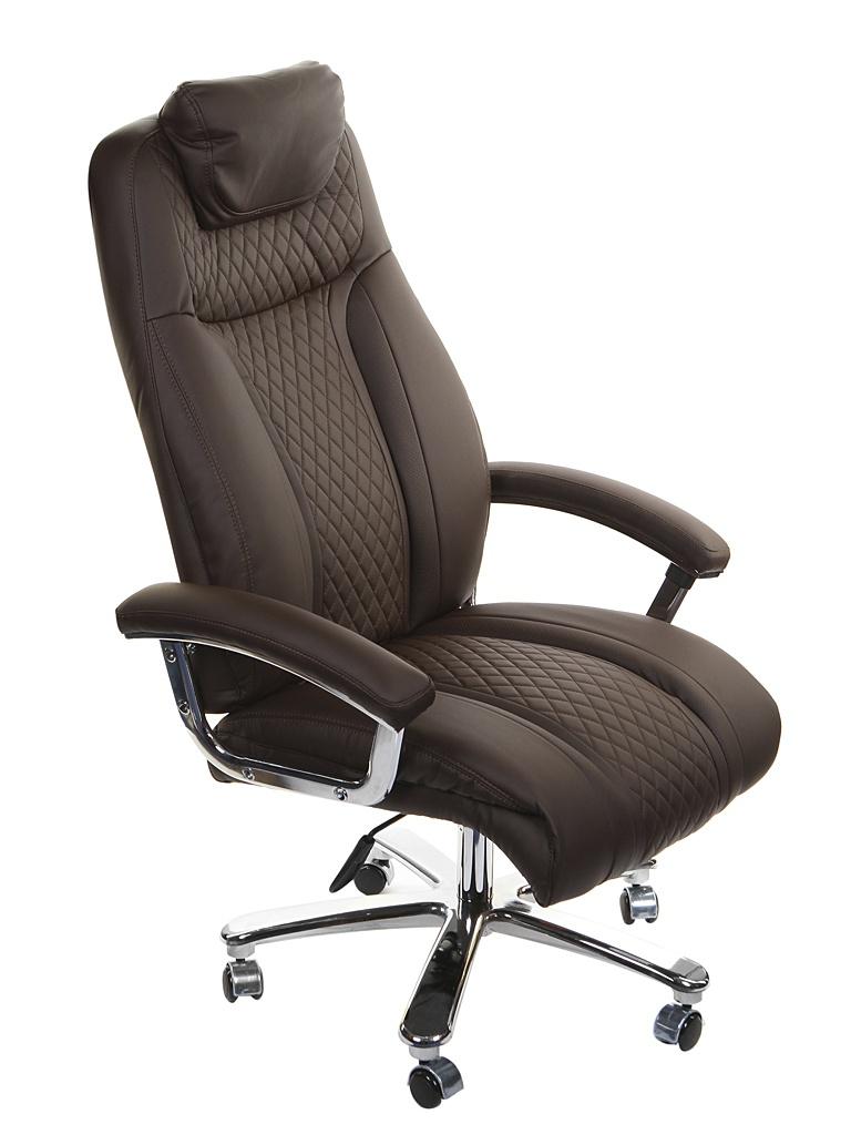 Компьютерное кресло TetChair Trust искусственная кожа Brown 13135