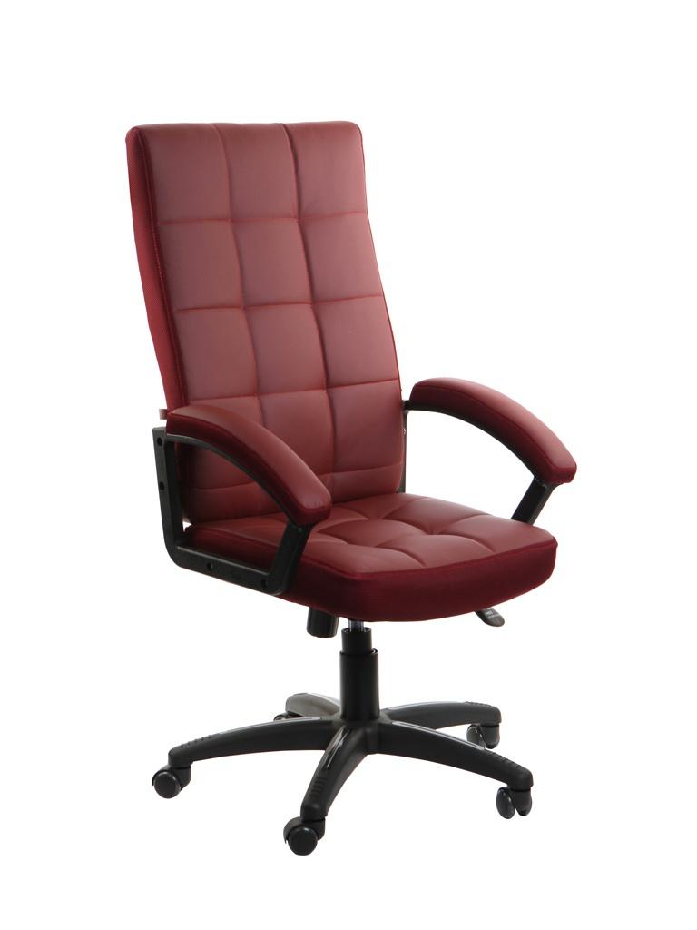 Компьютерное кресло TetChair Trendy искусственная кожа, ткань Burgundy 12021