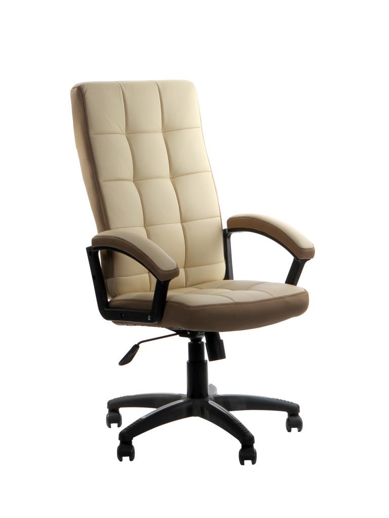 Компьютерное кресло TetChair Trendy искусственная кожа, ткань Beige-Bronze 12020
