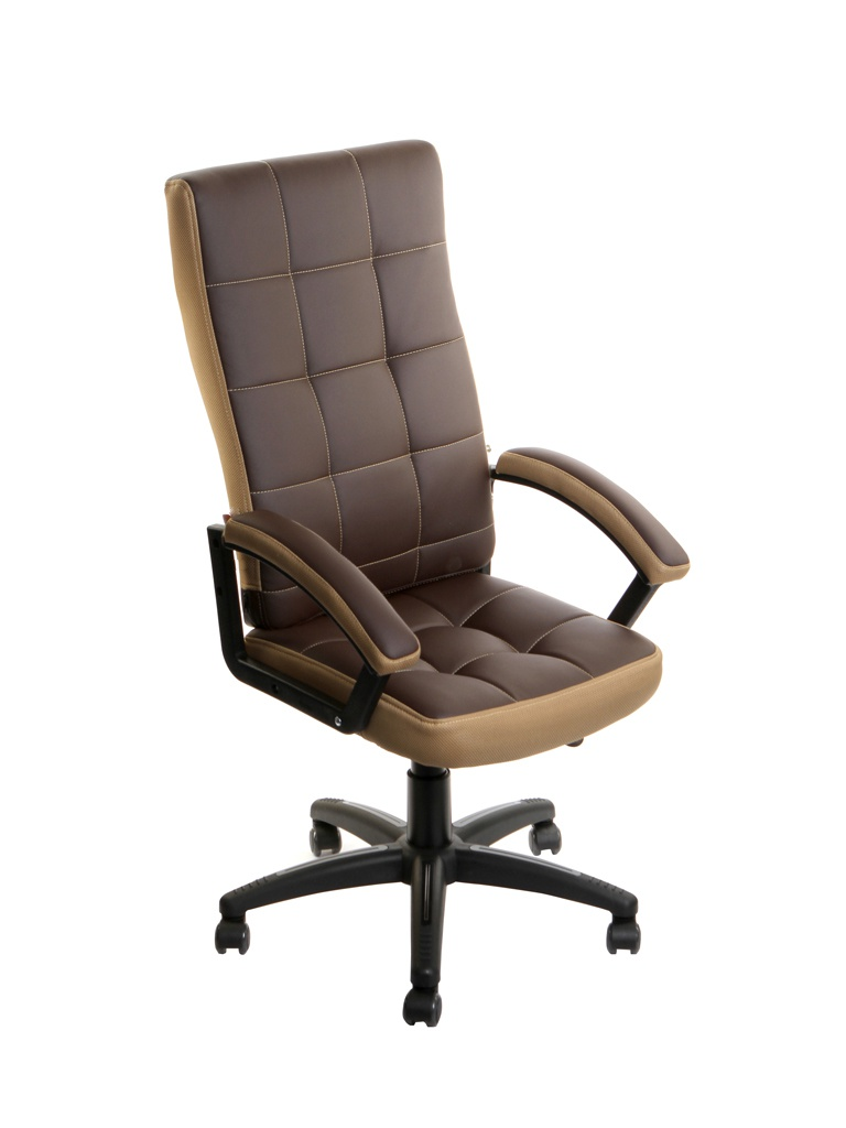 Компьютерное кресло TetChair Trendy искусственная кожа, ткань Brown-Bronze 11074