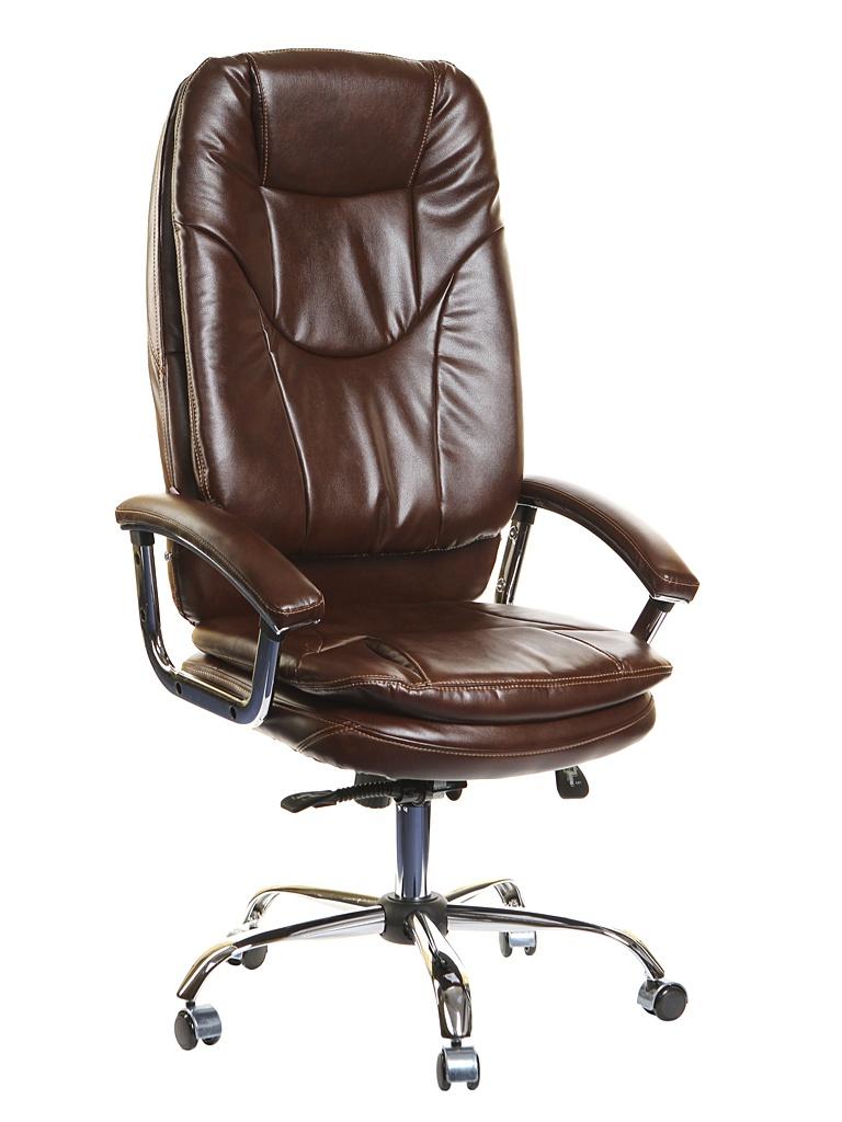 Компьютерное кресло TetChair Softy Lux искусственная кожа Brown 12903