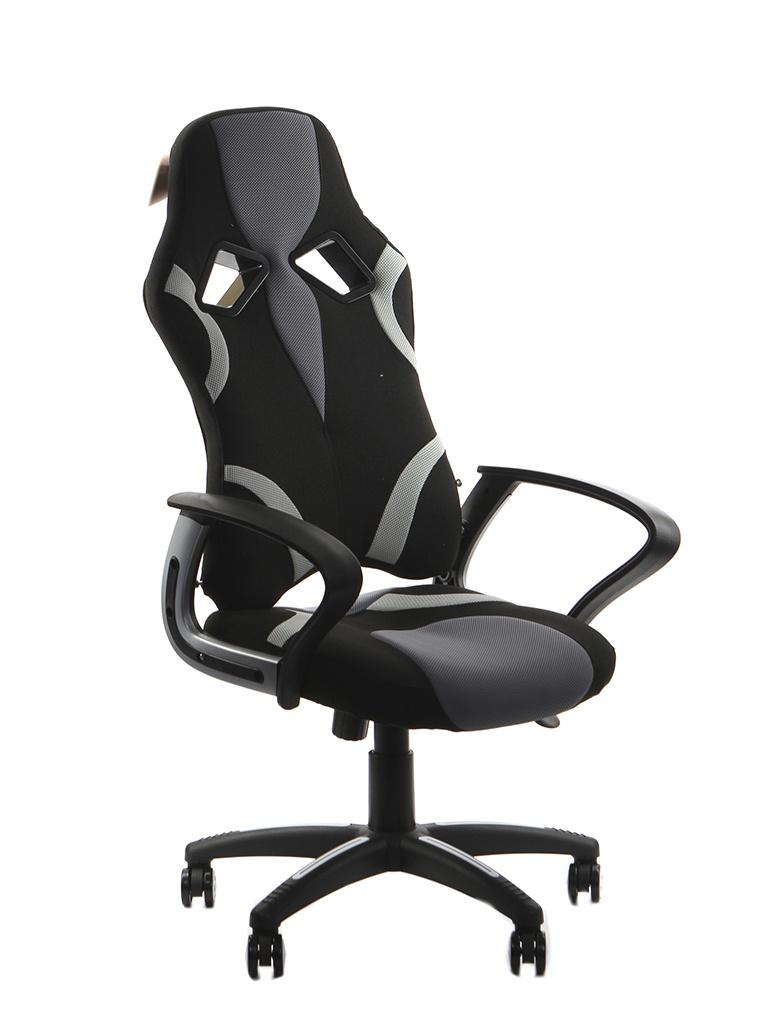 Компьютерное кресло TetChair Runner ткань Black-Grey 12875