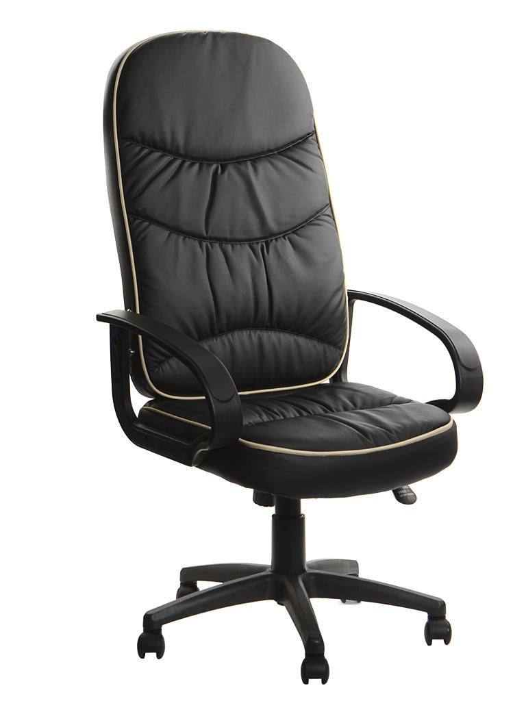 Компьютерное кресло TetChair Polo искусственная кожа Black 1067