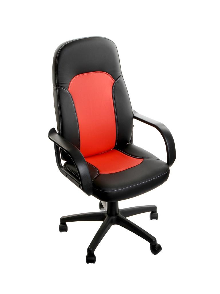 Компьютерное кресло TetChair Parma искусственная кожа Black-Red 2956