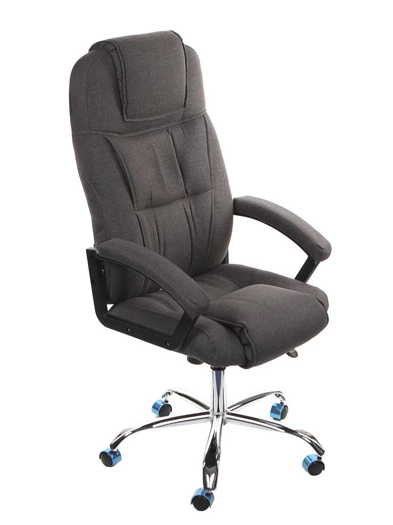 Компьютерное кресло TetChair Bergamo ткань, хром Dark Grey 13092