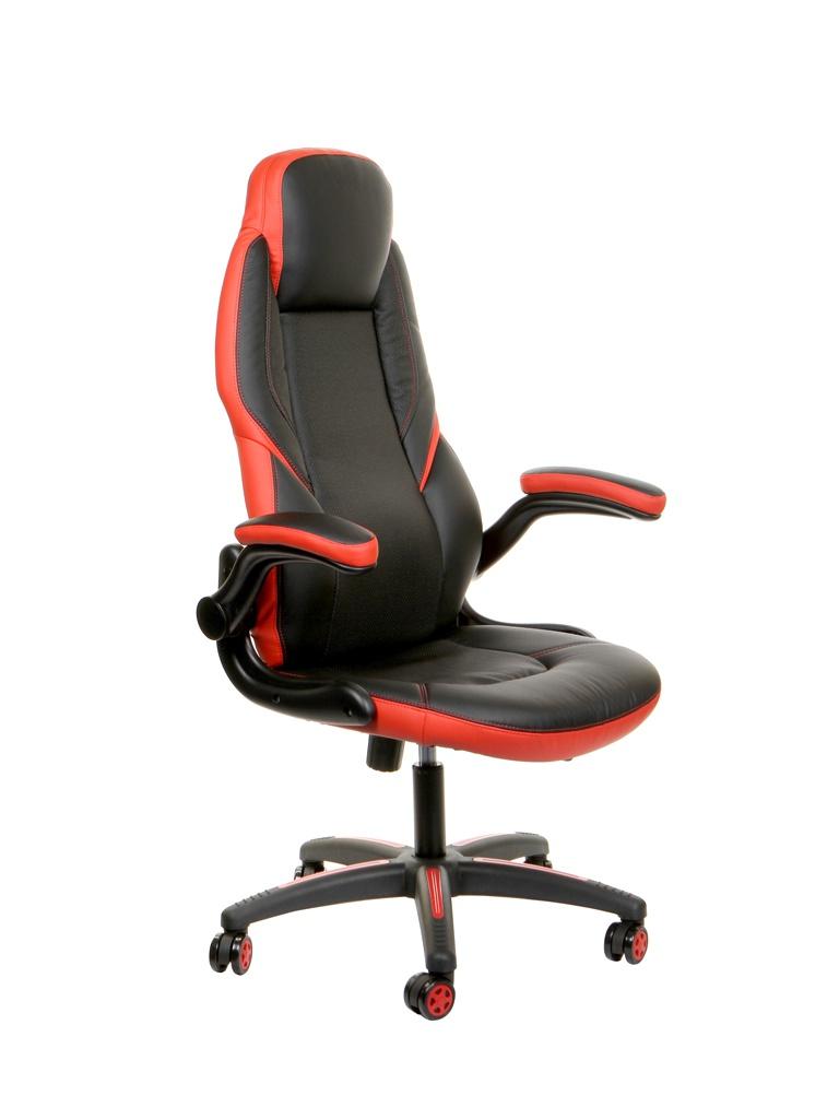 Компьютерное кресло TetChair Bazuka искусственная кожа Black-Red 13085