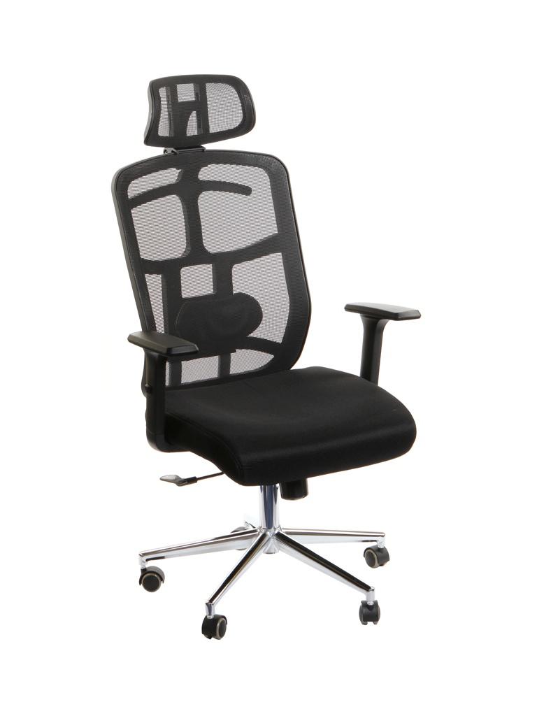 Компьютерное кресло TetChair Mesh-6 ткань Black 13189