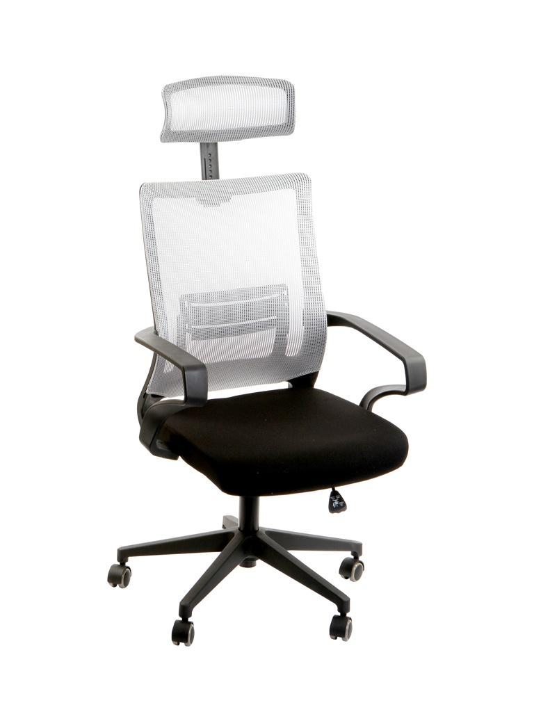 Компьютерное кресло TetChair Mesh-4HR ткань Black-Grey 13185
