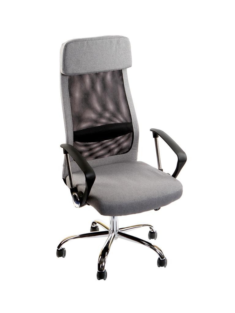 Компьютерное кресло TetChair Profit ткань Grey-Black 12728