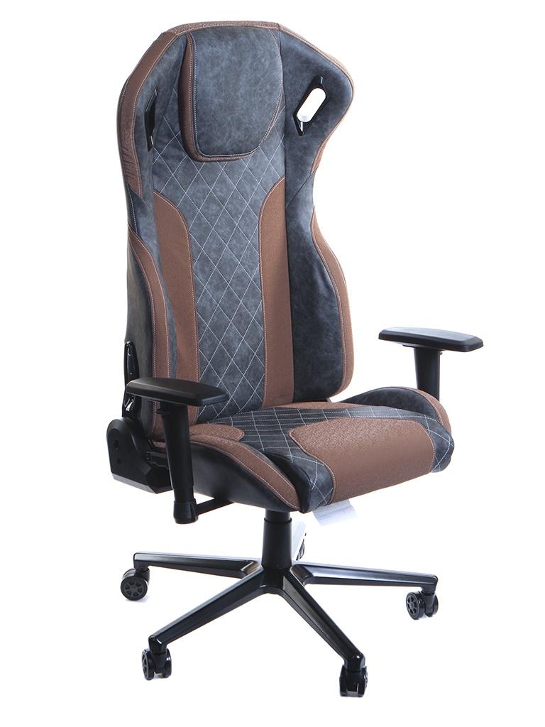 Компьютерное кресло TetChair iMatrix искусственная кожа Grey-Brown 13078
