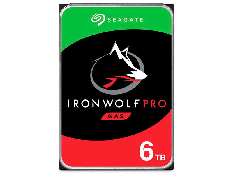 Жесткий диск Seagate IronWolf Pro 6Tb ST6000NE000 жесткий диск seagate ironwolf pro 4tb st4000ne001