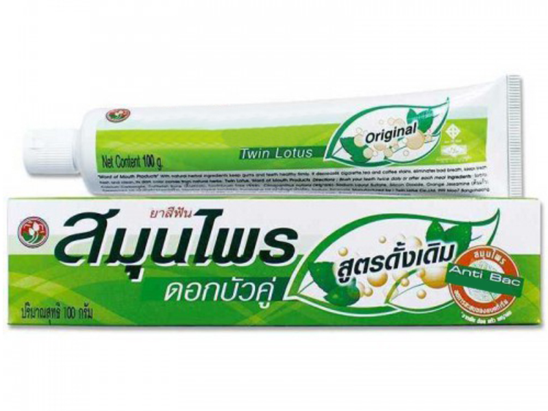Зубная паста Twin Lotus Herbal Original 100гр 0013