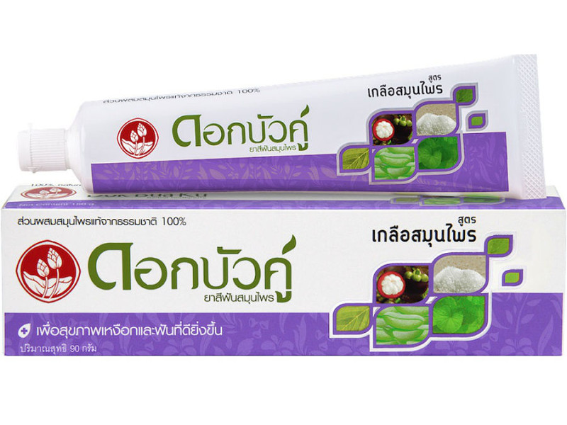 Зубная паста Twin Lotus Herbal Plus Salt 90гр 8255