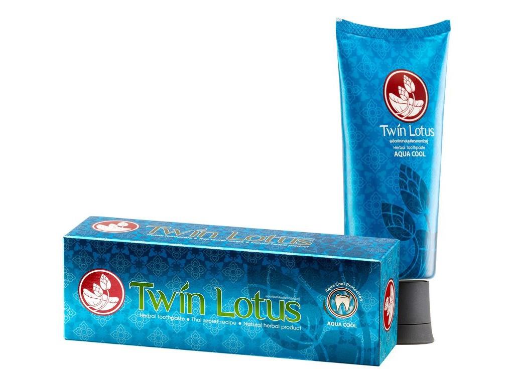 Зубная паста Twin Lotus Премиум Blue 100гр 0018