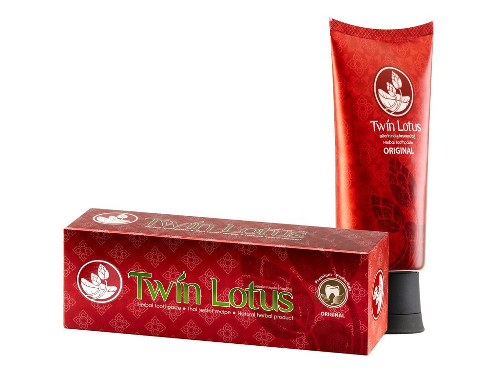 Зубная паста Twin Lotus Red 100гр 0940