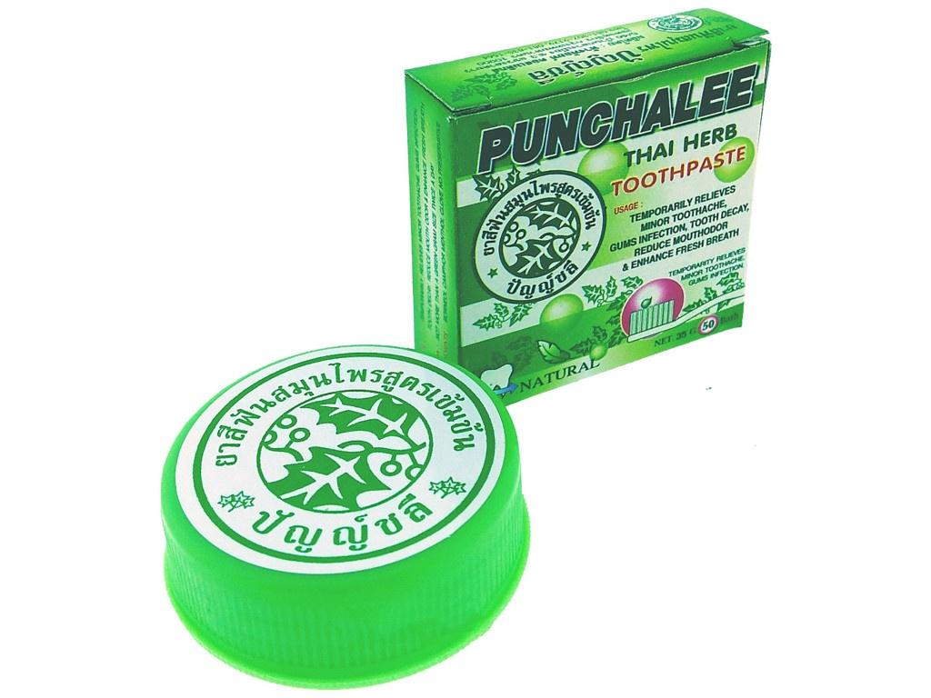 Зубная паста Punchalee Herbal 25гр 7612