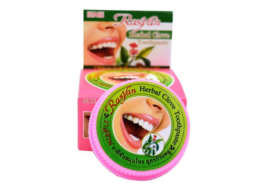 Зубная паста Rasyan Herbal Clove 25гр 8101