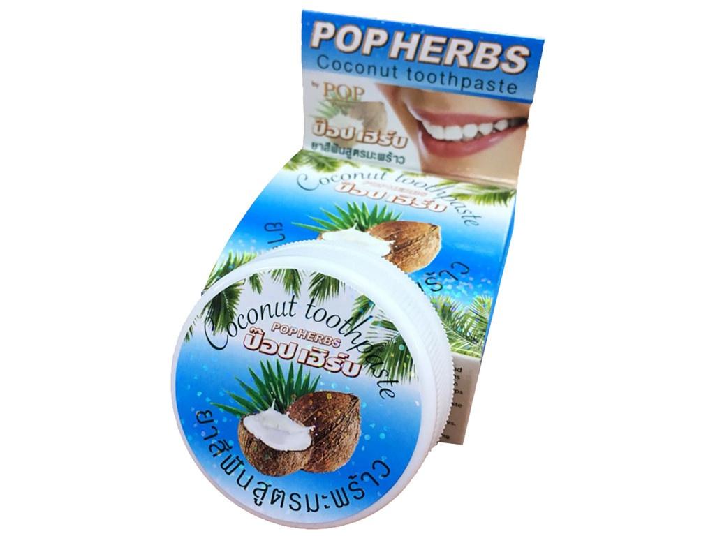 Зубная паста Pop Herbs 30гр 3216