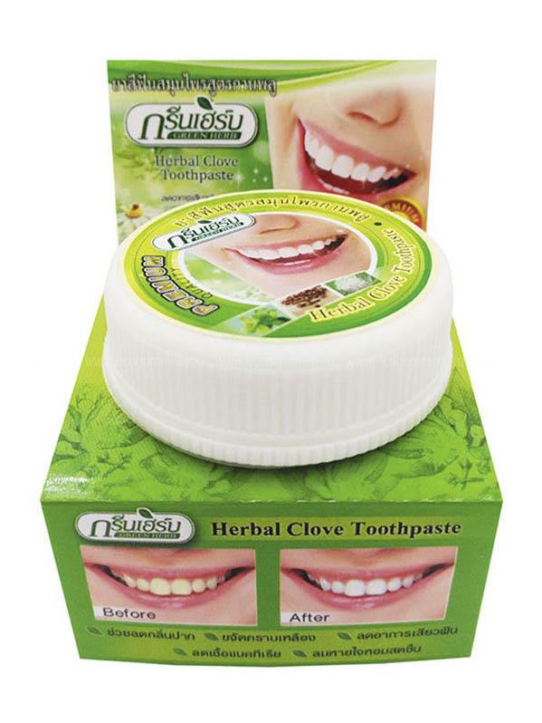 Зубная паста Green Herb Toothpaste 25гр 0162