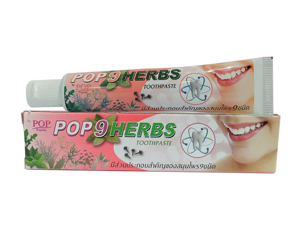 Зубная паста Pop Herbs 40гр 3056