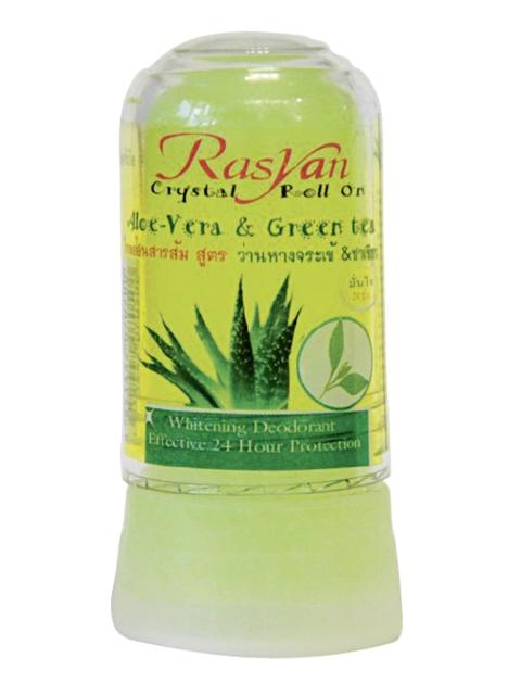 Дезодорант Rasyan кристалл 80г с Алоэ Вера и зеленым чаем 0500