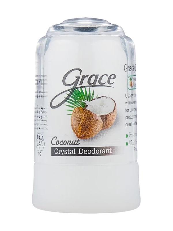 Дезодорант Grace кристалл 70гр Кокосовый 0971