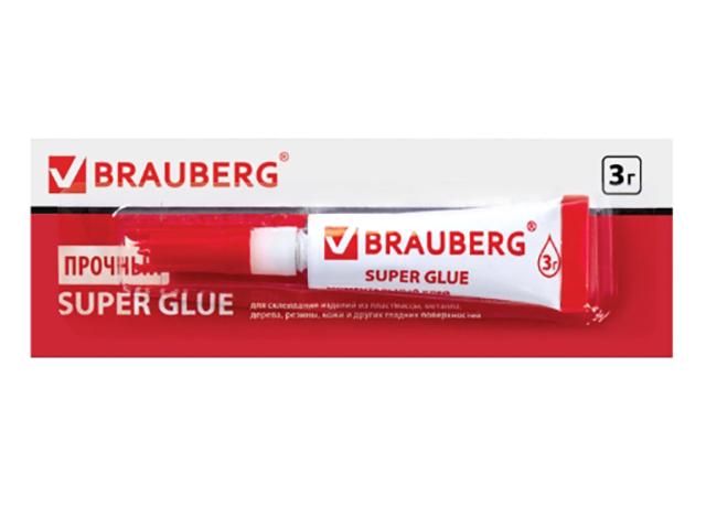 Клей Brauberg 3g 605566