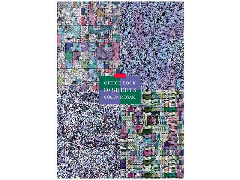 Бизнес-блокнот Hatber А4 80 листов 80ББ4В1_22023